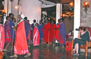 Photographing Maasai Dancers at Ngorongoro Serena Lodge